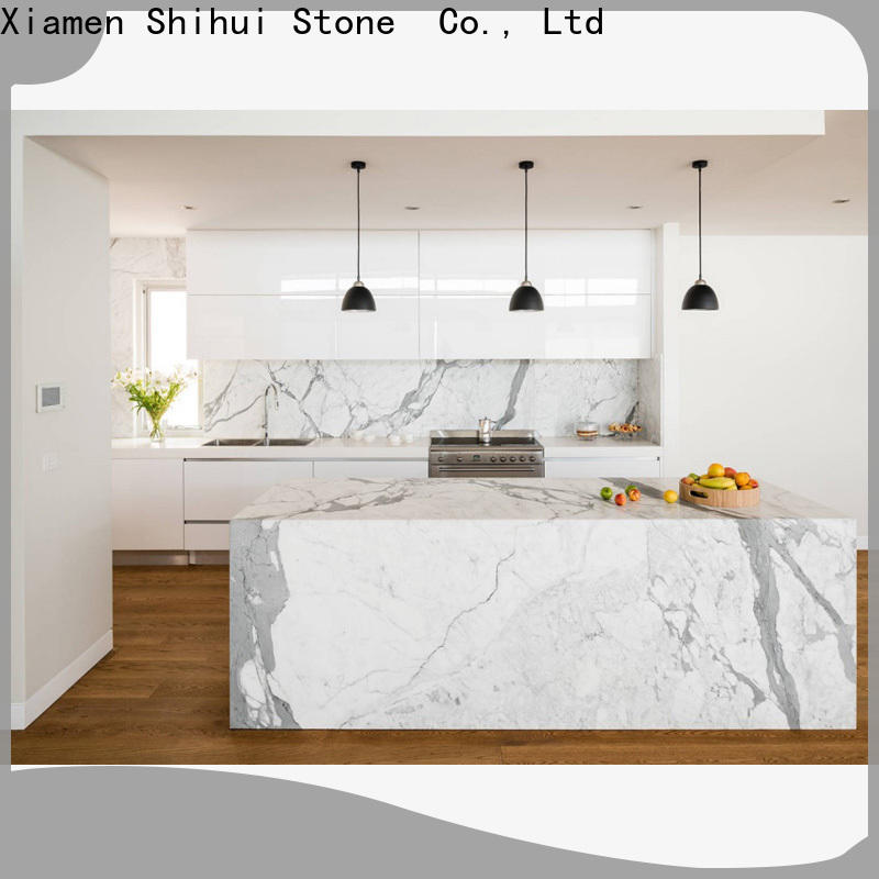 Shihui engineered stone countertops personalized for hotel