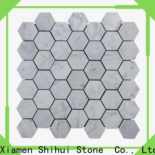 Shihui practical natural stone tile mosaic manufacturer for toilet