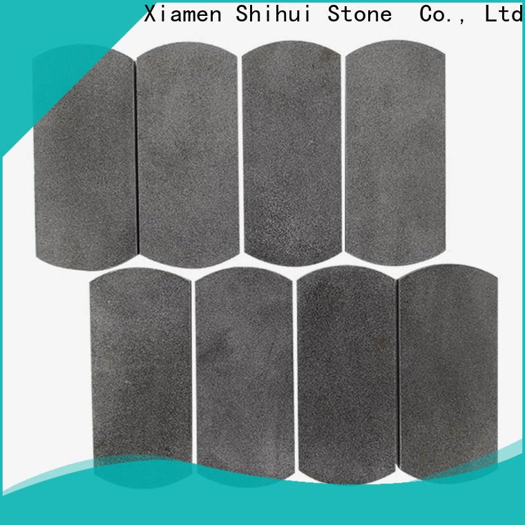 Shihui natural stone mosaic tiles customized for bathroom