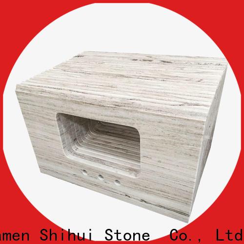 Shihui manmade top stone countertops factory price for bar