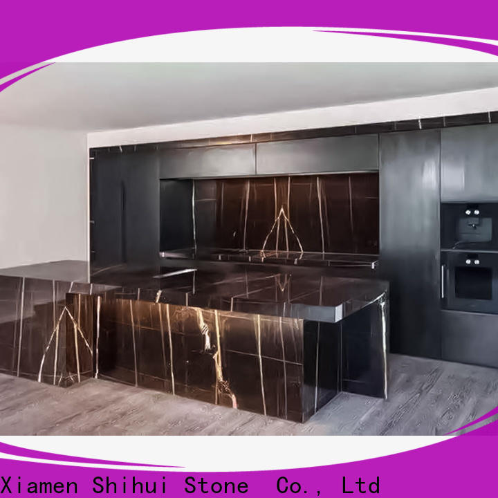 Shihui certificated best stone kitchen countertops factory price for bar