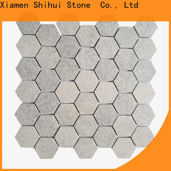 Shihui quality natural stone mosaic manufacturer for household