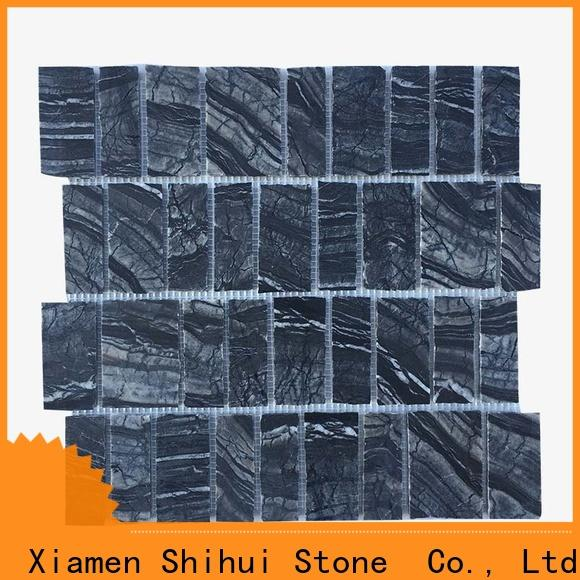 Shihui natural stone mosaic tiles directly sale for household