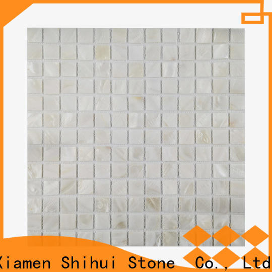 Shihui hot selling natural stone tile mosaic from China for toilet