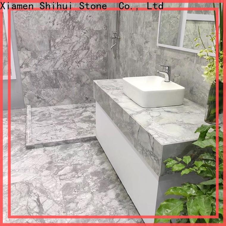 Shihui approved natural stone marble tile with good price for household