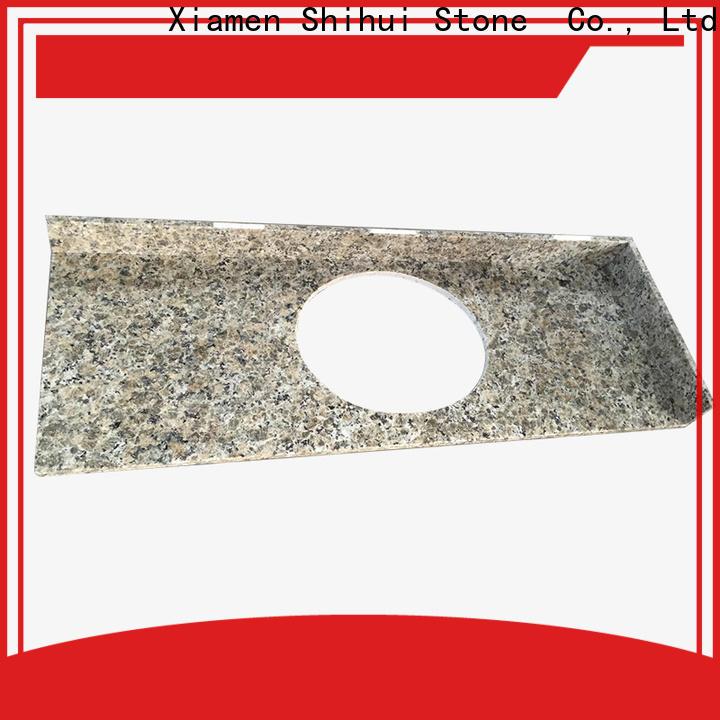 Shihui juparana engineered stone countertops factory price for hotel