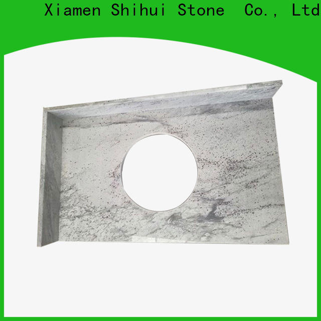 black solid stone countertops wholesale for bar