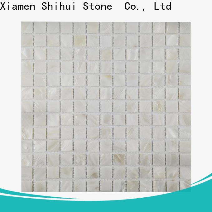 Shihui hexagon natural stone mosaic tiles manufacturer for bathroom