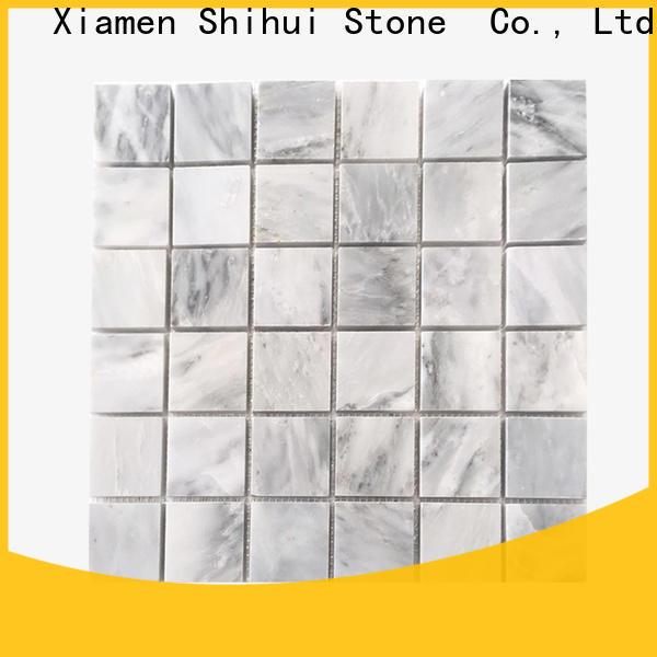 Shihui stone mosaic tile backsplash directly sale for indoor
