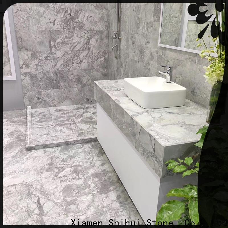 approved marble stone tile with good price for bathroom