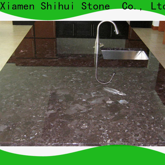 Shihui manufactured stone countertops factory price for hotel
