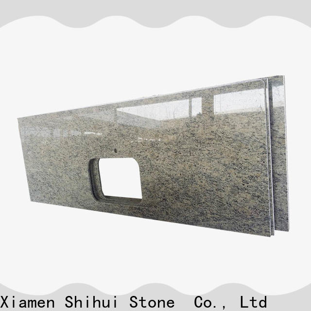 Shihui sturdy manufactured stone countertops factory price for kitchen