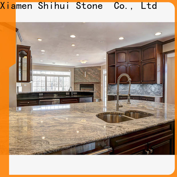 quality manmade stone countertops factory price for bathroom