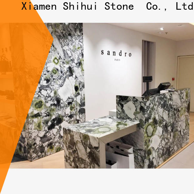 Shihui quality cultured stone countertop personalized for kitchen