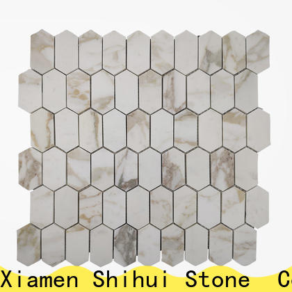 Shihui hexagon natural stone mosaic series for household