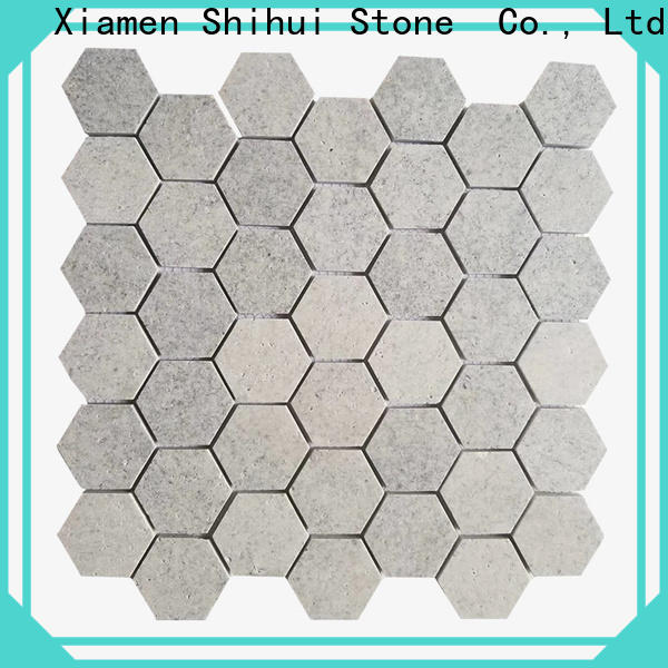 Shihui stone mosaic tile backsplash from China for bathroom