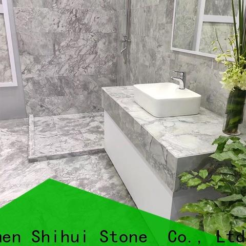 top quality natural marble tile with good price for toilet