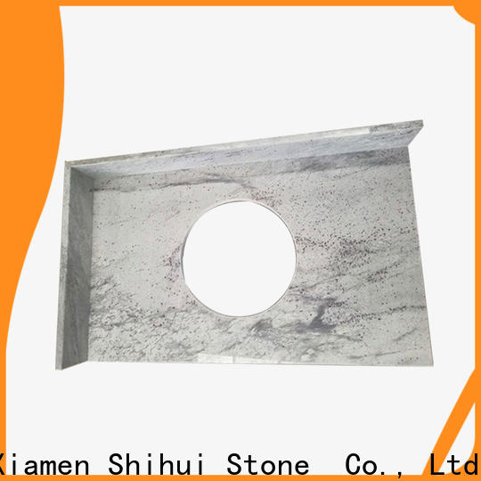 Shihui engineered stone countertops personalized for bathroom