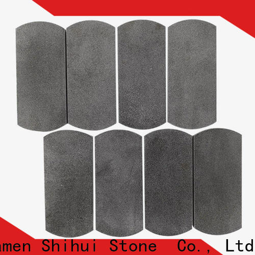 Shihui basalt natural stone tile mosaic from China for bathroom