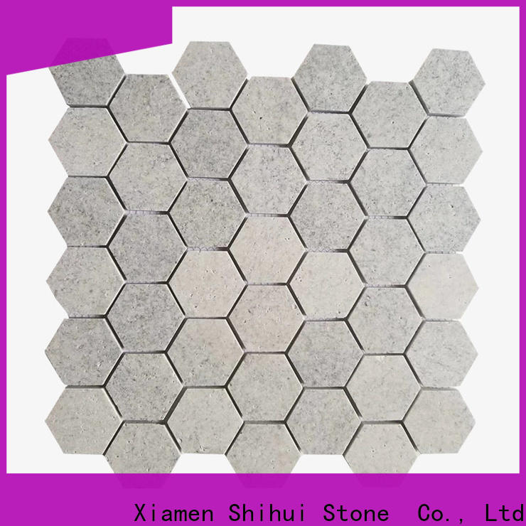 Shihui tile stone mosaic customized for indoor
