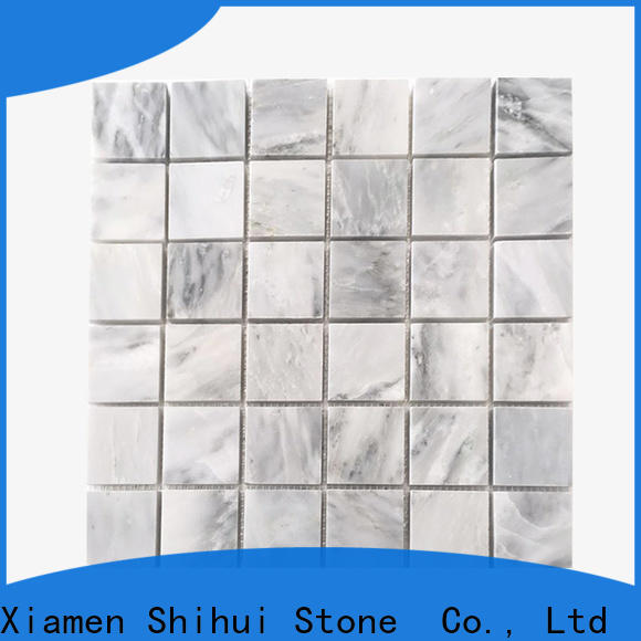 reliable natural stone mosaic customized for bathroom