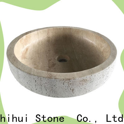Shihui stable natural stone basin supplier for bathroom