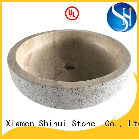 Shihui stable natural stone basin wholesale for bar