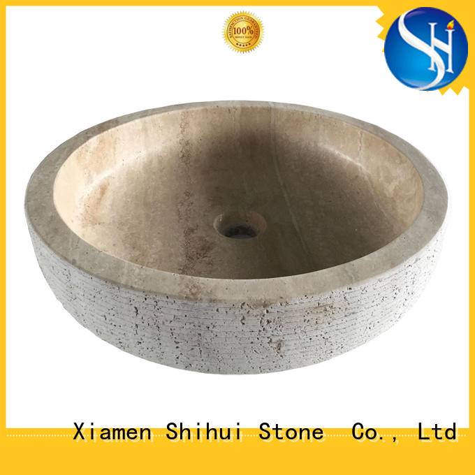 Shihui stable natural stone basin supplier for kitchen