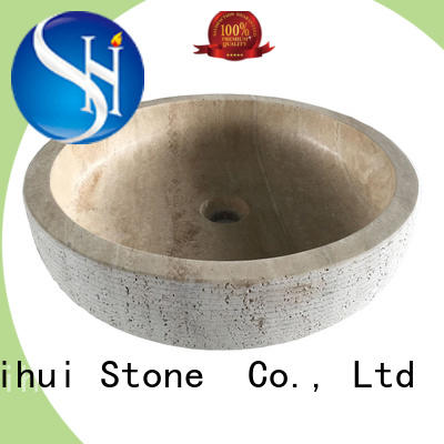 natural stone wash basin personalized for bathroom
