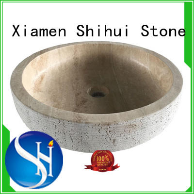 natural stone sink basin factory price for bathroom Shihui