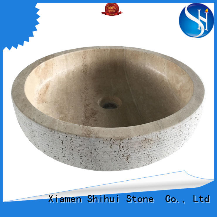 Shihui natural stone sink supplier for hotel